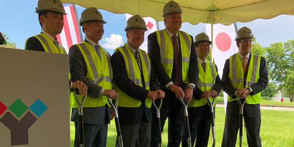 Yamazen breaks ground in Elk Grove